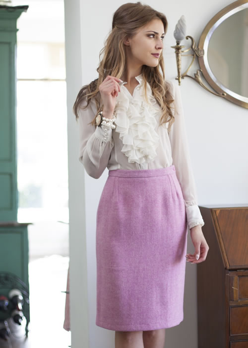 Isla Harris Tweed Skirt