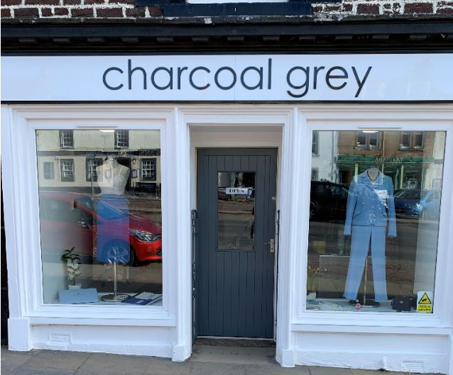 charcoal grey biggar
