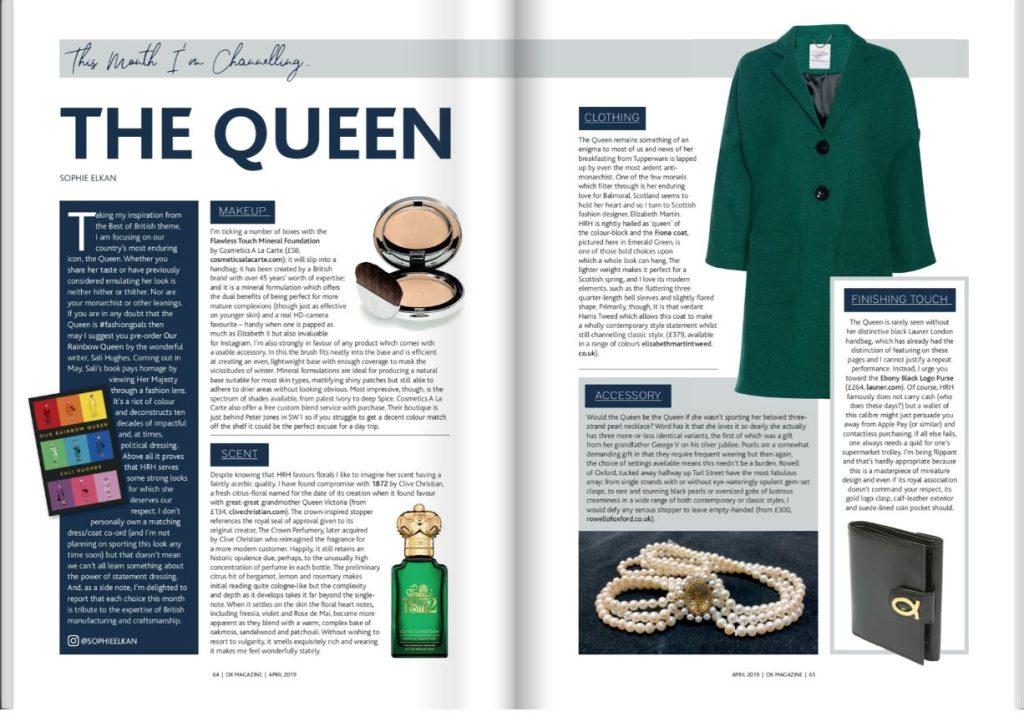elizabeth martin in ox magazine